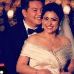 Benaf Dadachandji Marriage Photo With Husband Norman Lou