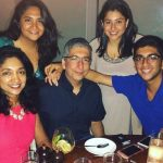 Benaf Dadachandji With Family (Father, Mother, Sister, Brother)