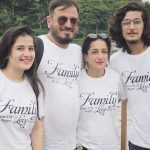 Bhavin Bhanushali With Parents And Sister
