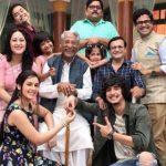 Bhavin Bhanushali With TV Show Cast Chidiyaghar