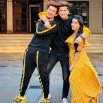 Bhavin Bhanushali With TikTok Partners Vishal Pandey And Sameeksha Sud