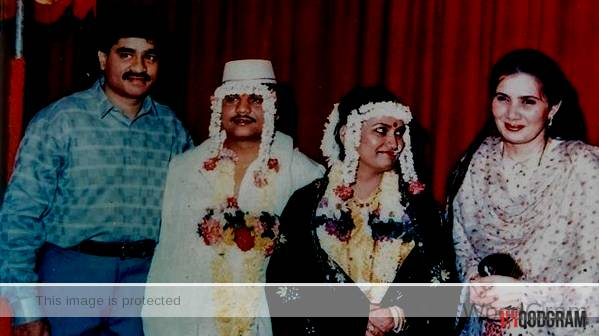 Dawood Ibrahim With His Wife At Chhota Rajan Marriage