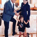Harry And Neeru Bajwa With Her Daughter