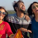 Heena Panchal With Her Brother And Sister