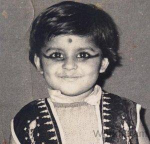 Jaya Bhattacharya Childhood Image
