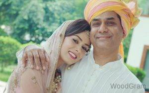 Mira Rajput With Her Father