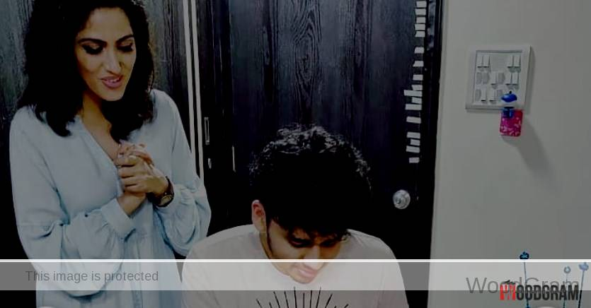 Monica Khanna With Her Brother