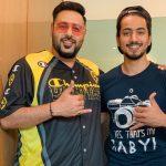 Mr. Faisu's Image With Badshah