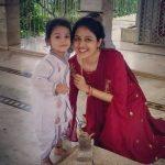 Paridhi Sharma With Her New Born Son