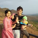 Paridhi Sharma With Husband And Son