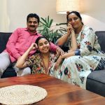 Prajakta Koli With Her Parents