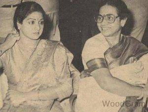 Rajeswari Yanger With Daughter Sridevi