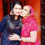 Renu Nagar With Her Mother
