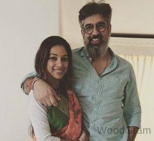Rupali Ganguly With Husband Ashwin K Verma