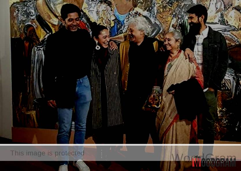 Sayani Gupta With Family
