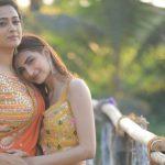 Shweta Tiwari With Her Daughter