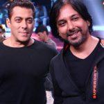 Siddharth Dey With Salman Khan