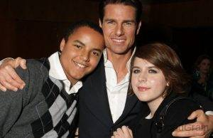 Tom Cruise With His Children