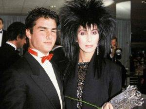 Tom Cruise with Cher