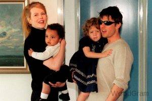 Tom Cruise with Nicole Kidman With Kids
