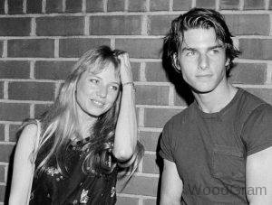 Tom Cruise with his Ex girlfriend Diane Cox