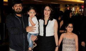 Wajid Khan Family - With Wife, Daughter, Son