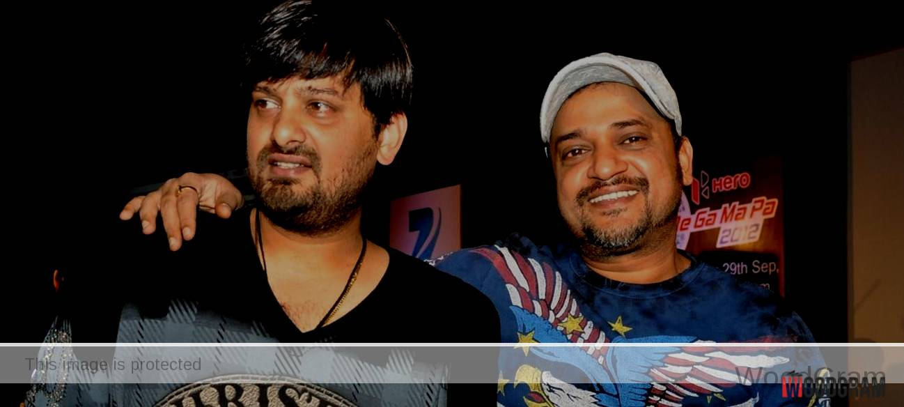 Wajid Khan (Left) With His Brother Sajid Khan