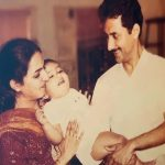 Anand Ahuja Childhood Image With Parents