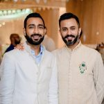 Anand Ahuja With His Brother