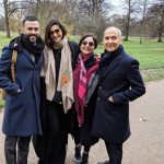 Anand Ahuja With Parents And Wife