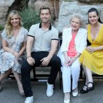 Betty White With Children Now