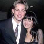 Brad Pitt with Jill Schoelen