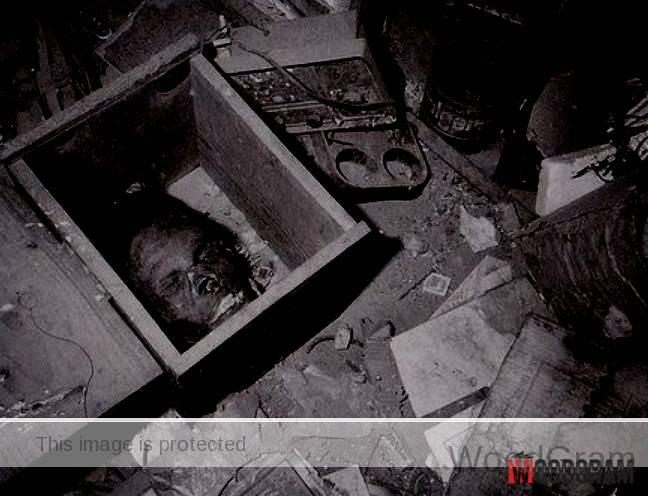 Ed Gein Mask Founded At His Home