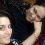Ekta Kaul With Her Mother