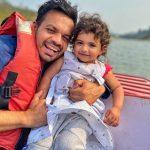 Gaurav Taneja With His Daughter