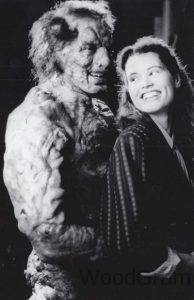 Geena Davis in The Fly With Goldblum