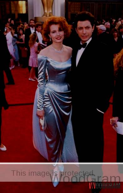 Jeff Goldblum With His First Wife Patricia