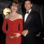 Jeff Goldblum With His Second Wife Geena Davis