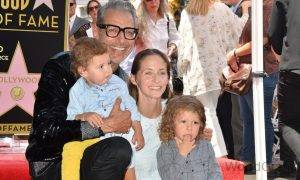 Jeff Goldblum With His Third Wife Emilie And Children