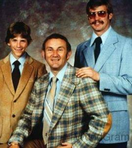 Jeffrey Dahmer young AGe Image With His Father And Brother David Dahmer