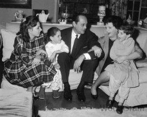 Judy Garland Spouse Husband - 3 Ѕіdnеу Luft (m. 1952-1965) With Children - Daughter And Son