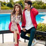 Lucky Dancer With His Girlfriend Arishfa Khan