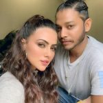Melvin Louis With His Girlfriend Sana Khan