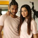 Melvin Louis With Rumored Girlfriend Gauhar Khan