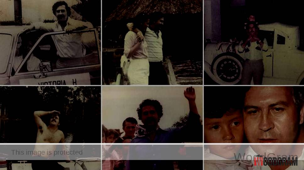 Pablo Escobar Unseen Images With Wife And Son