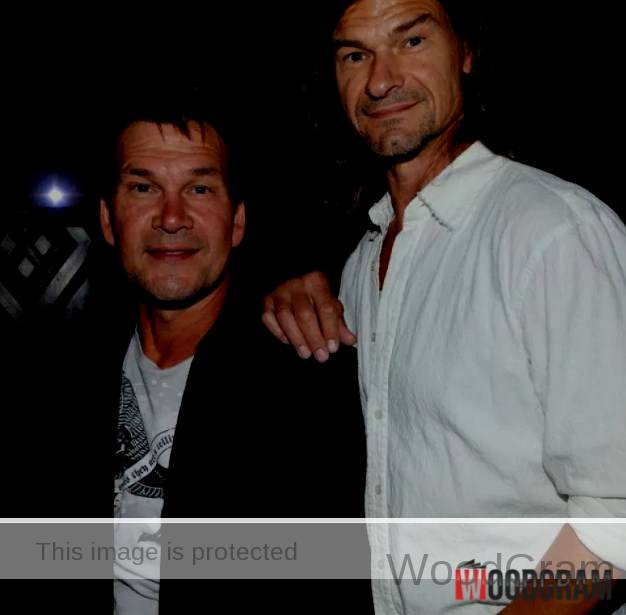 Patrick Swayze With His Brother Don Swayze