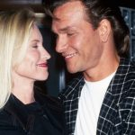 Patrick Swayze With Wife