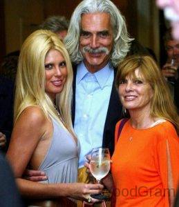 Sam Elliott With Wife And Daughter