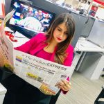 Shefali Bagga In AAJ TAK Office