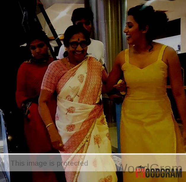 Shilpa Manjunath With Her Mother
